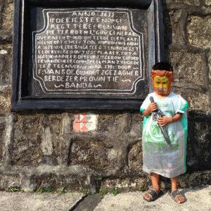 Kid at Fort Belgica, Banda Neira